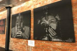"""""""Narrator"""", exhibition of Argen Uteev, 11.12.2018-11.01.2018"""
