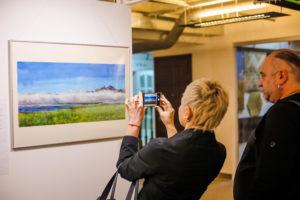 «Другая планета», выставка Анастасии Захаровой, 15.01-30.01.2018