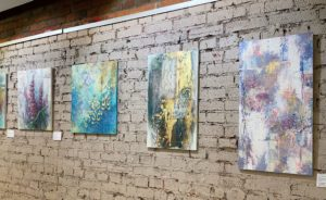 """Фрагменты"", выставка Натальи Жуковой, 01.07-30.07.2021"