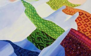"""""""Геометрия мысли"""", выставка живописи, 23.08-22.10.2021"""